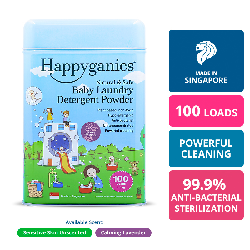 Baby All-Natural Laundry Detergent Powder (Lavender) - 1.5KG