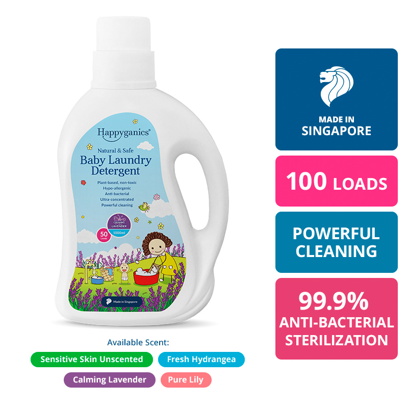 Baby Laundry Detergent (Lavender) - 1000ml